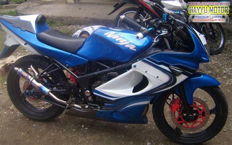 modifikasi r kumpulan modifikasi motor r warna biru terbaru