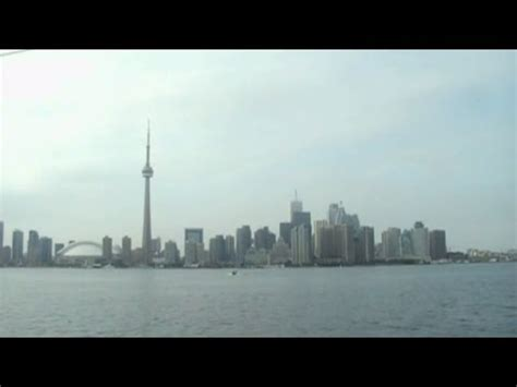 u boat watches toronto riding a ferry boat on lake ontario from centre island to