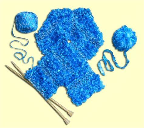eyelash yarn pattern knit easy scarf pattern free knitting pattern