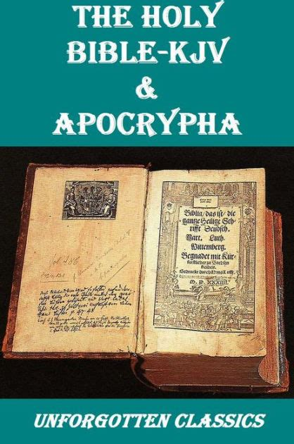 Bible Barnes And Noble King James Bible Amp Apocrypha By Various Nook Book Ebook