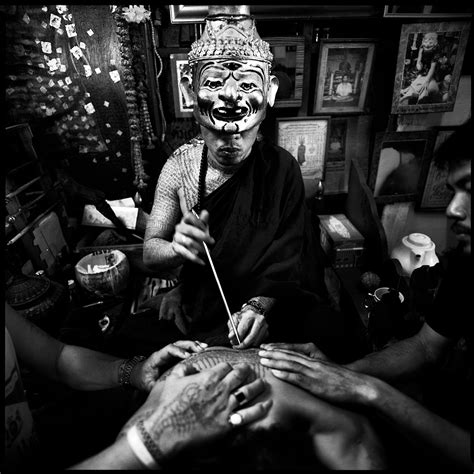 sacred ink tattoo magic photographer in bangkok thailand