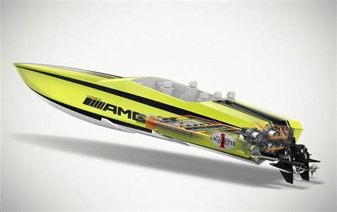 cigarette boat racing flip cigarette amg electric drive concept 171 inhabitat green