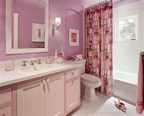girls bathroom design contemporary bathroom