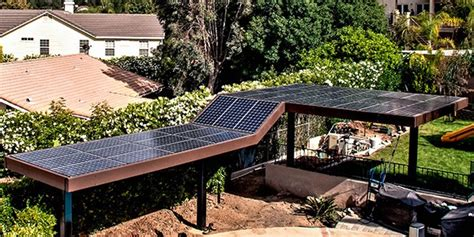 Solar Panel Mounting On Patio Cover   Modern Patio & Outdoor