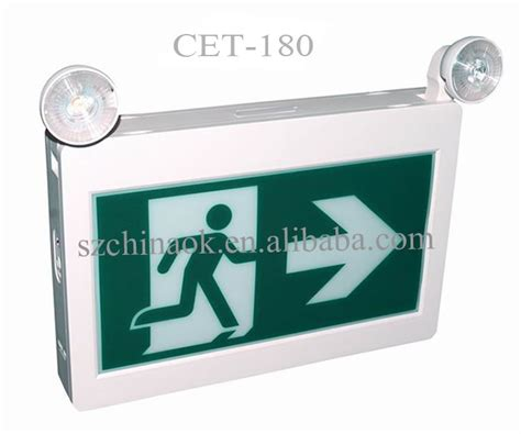 running board emergency lights csa approved abs led running emergency exit sign buy
