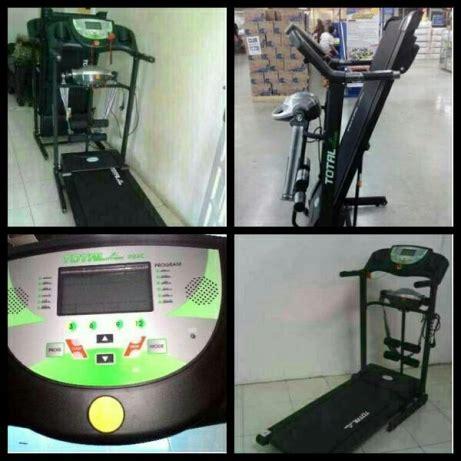 Treadmill Manual Total 6 Fungsi Murah Dan Bergaransi treadmill elektrik tl 222c 3 fungsi paling murah