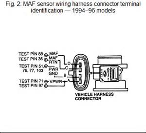 maf mass air flow sensor freeautomechanic