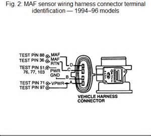 maf mass air flow sensor freeautomechanic