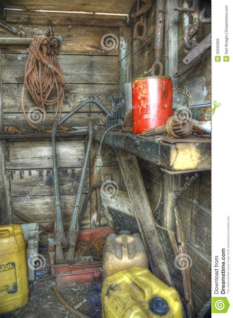 abandoned shed interior stock image image