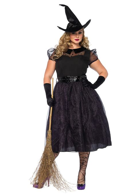halloween costumes plus size darling spellcaster costume