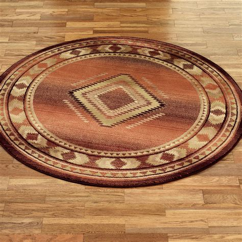 circular rugs rancho area rugs
