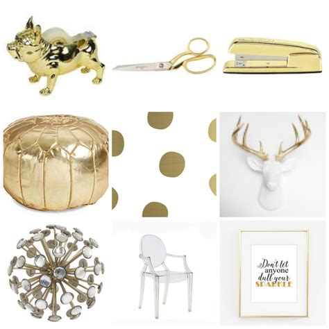 target com home decor gold office d 233 cor for the love of glitter