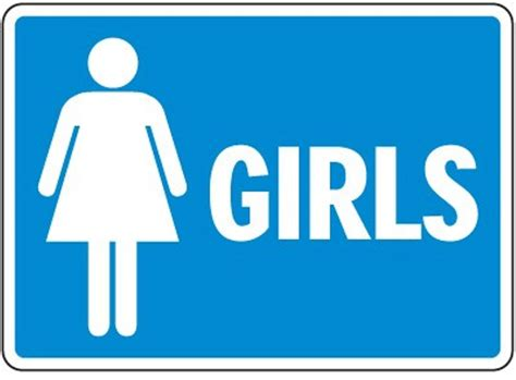 bathroom girl sign printable restroom signs cliparts co