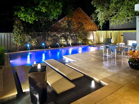 garden swimming pool custom dream homes stony wall poolside paradise landscaping ideas and hardscape design