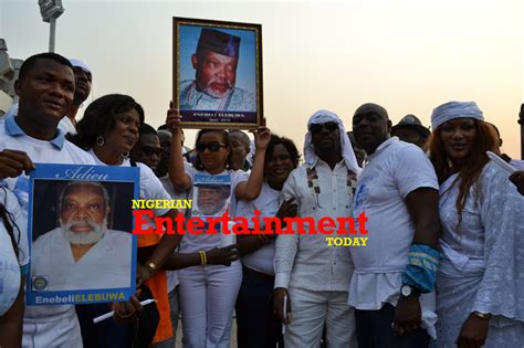 funeral of nigerian actors late nollywood icon enebeli elebuwa buried in lagos