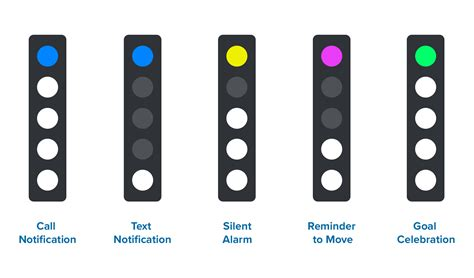 fitbit flex 2 lights meaning user added image