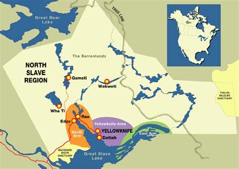 map yellowknife canada maps visit yellowknife
