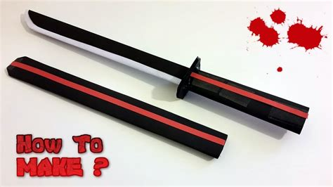 How To Make A Paper Samurai Sword - 16154 kanezumi 兼住 japanese samurai wakizashi katana