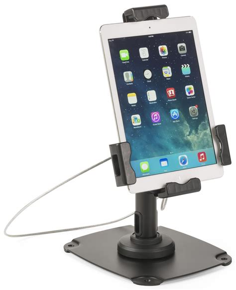 ipad easel ipad stand for tabletop or wall technology kiosk w