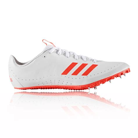 athletic running shoes spikes adidas sprintstar mens white athletic field running spikes