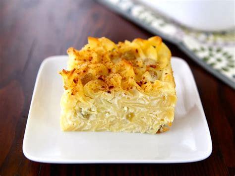 Noodle Kugel Cottage Cheese by Sweet Lokshen Kugel Noodle Pudding
