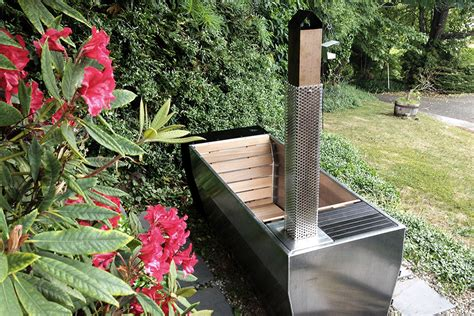 Outdoor Bathtub Wood Fired by Soak Outdoor Wood Fired Soaking Tub