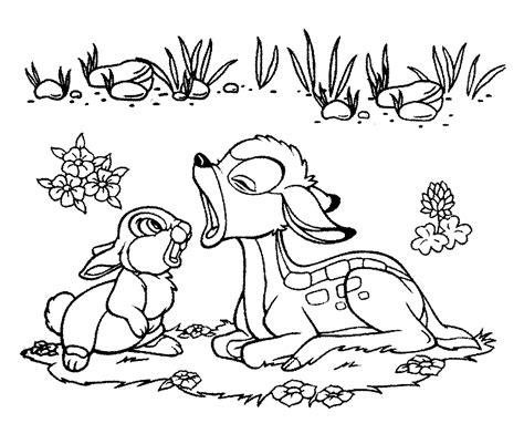 gambar mewarnai kelinci dan kancil murid 17