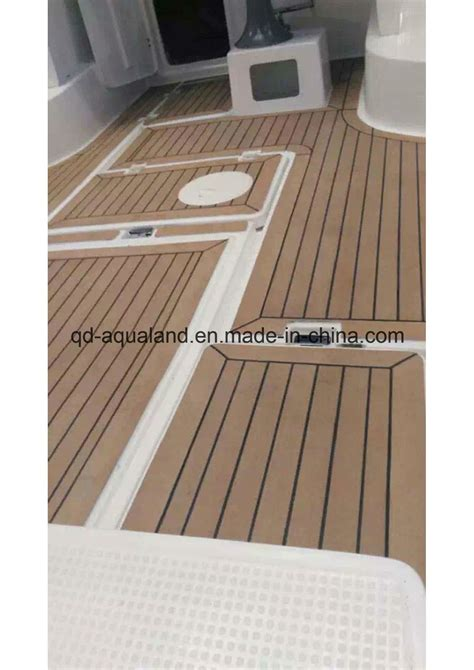 marine flooring ltd china aqualand fexible plastic composite synthetic teak
