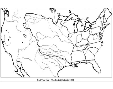 usa map quiz purposegames unit two map the united states in 1803