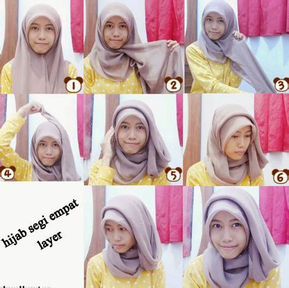 tutorial hijab tapi syar i tutorial hijab simpel modis pashmina segi empat jasmin