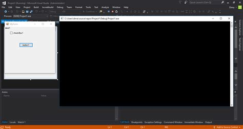 reset visual studio settings command line winforms visual c application opens a command prompt
