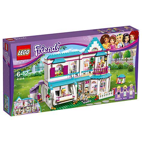 lego house to buy buy lego friends 41314 stephanie s house john lewis