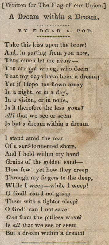 Poem About American Dream