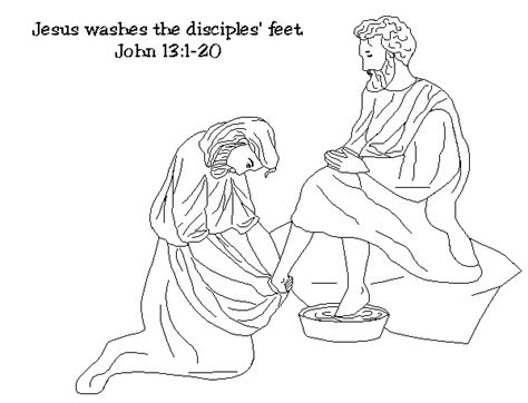 holy thursday coloring pages