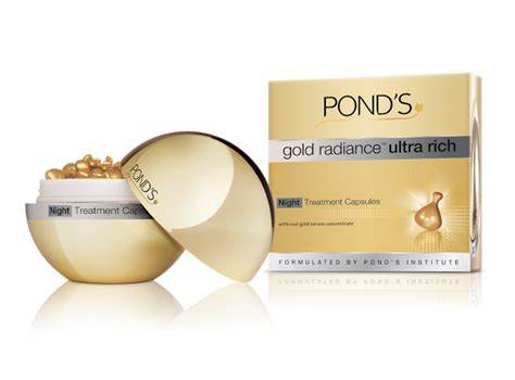 Serum Gold Ponds ponds gold radiance ultra rich serum review