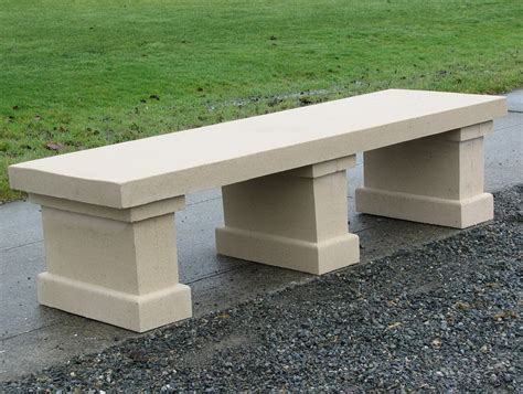 bench concrete concrete garden bench molds home design ideas