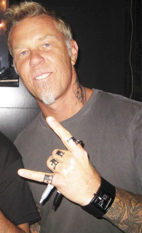 james hetfield tattoos here is the other new hetfield my