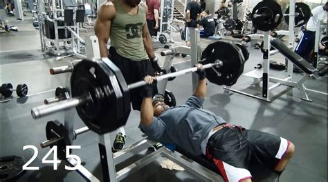 heavy bench press training to hit 300 pounds youtube