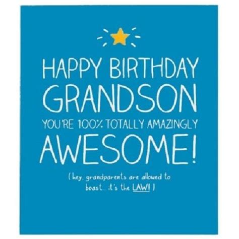 Grandson Birthday Wishes Greeting Cards Happy Jackson Greeting Card Happy Birthday Grandson Ebay