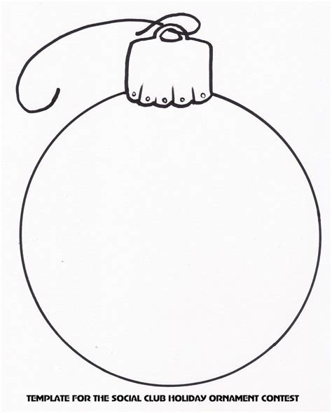 tree ornament templates ornament template templates