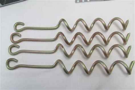 metal swing set anchors never used flexible flyer ground anchor kit for metal
