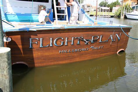 boat transom design boats transom artwork painting everett nautical designs