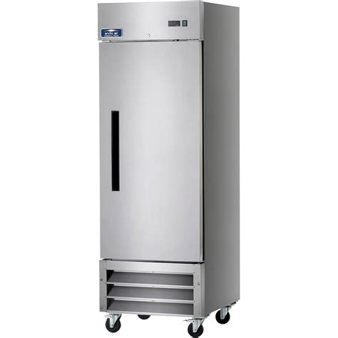 Single Freezer Drawer by Arctic Air Stainless Steel Reach In Single Door Freezer Af23