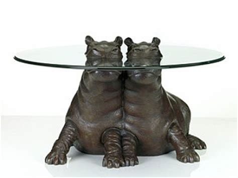 Object Moved Hippo Coffee Table