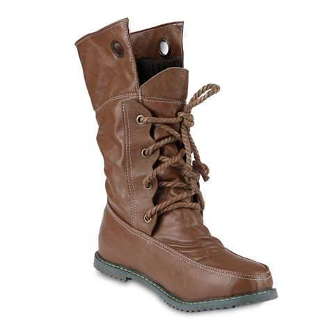winter combat army lace up flat