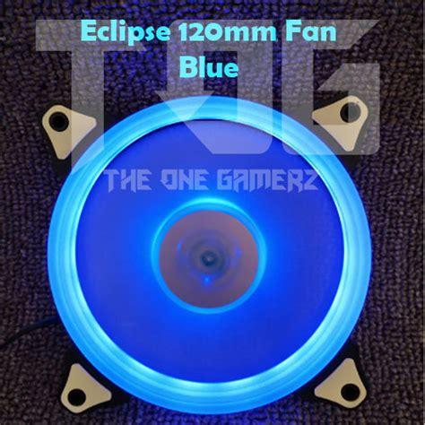 Aigo Rainbow Led 12cm Silent Fan Aigo Eclipse 120mm Blue Led Ring Silent Casing Fan 12cm