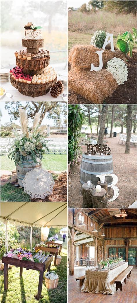 30 rustic wedding details ideas you will deer