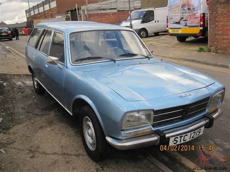 old peugeot for sale 1978 peugeot 504 family 7 seater estate classic car mot