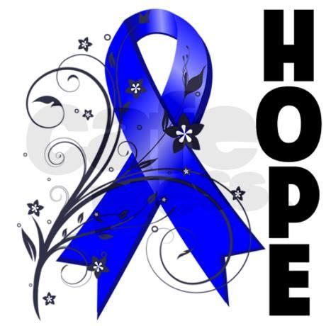 colon cancer ribbon floral ribbon colon cancer throw