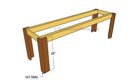 simple wooden bench plans simple outdoor bench plans free outdoor plans diy shed
